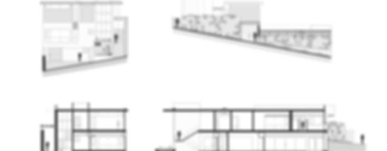 Residencia R53:  de estilo  por Imativa Arquitectos