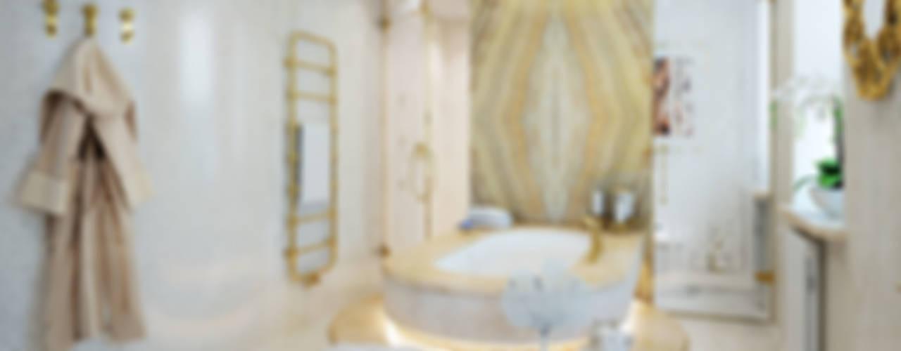 Частный дом Ванная в классическом стиле от Частный дизайнер Классический