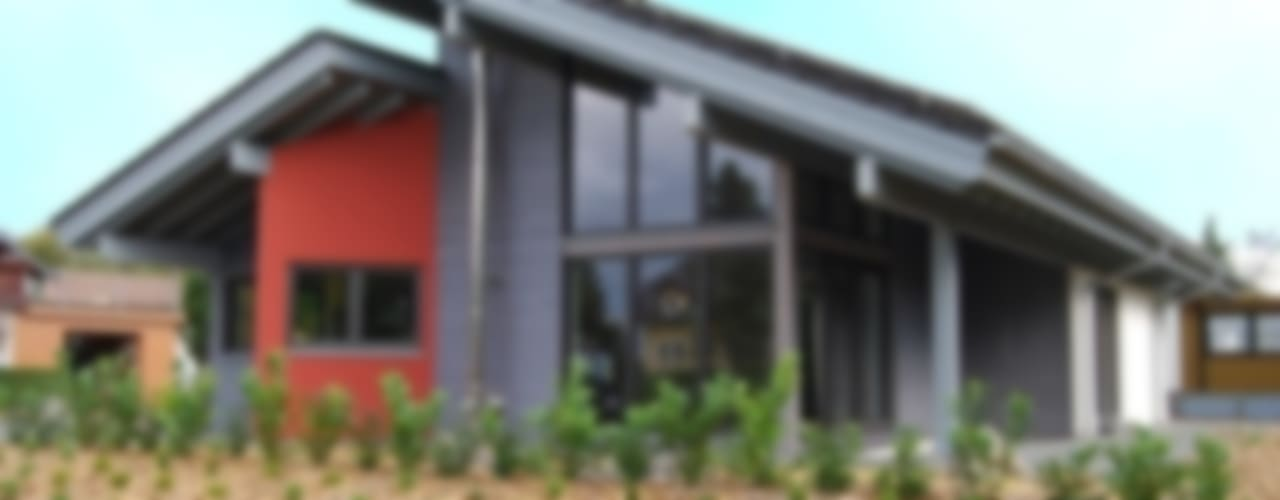 Moderne huizen van Tirolia GmbH Modern