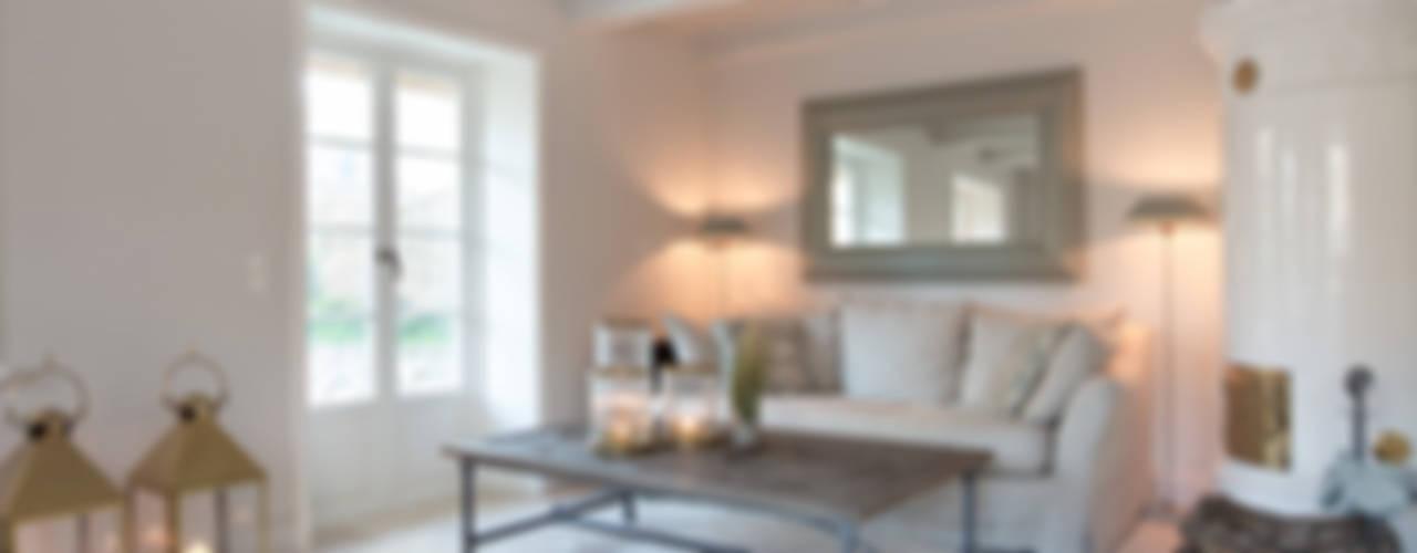 Projekty,  Salon zaprojektowane przez Immofoto-Sylt,