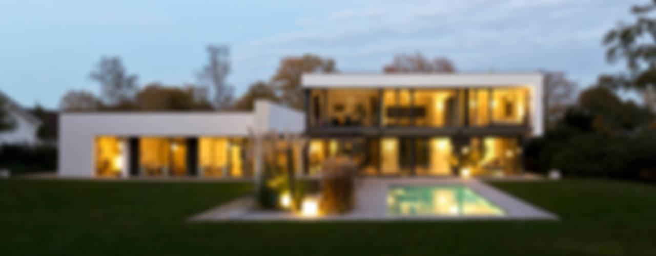 Haus F Tusch Architekten und Ingenieure Düsseldorf Moderner Garten
