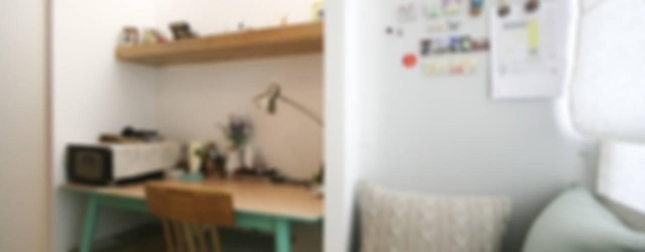 서재 / 사무실: 홍예디자인의  서재 & 사무실