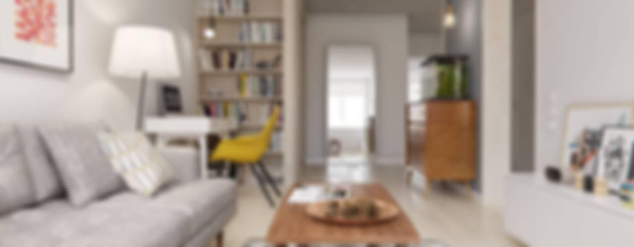 غرفة المعيشة تنفيذ INT2architecture
