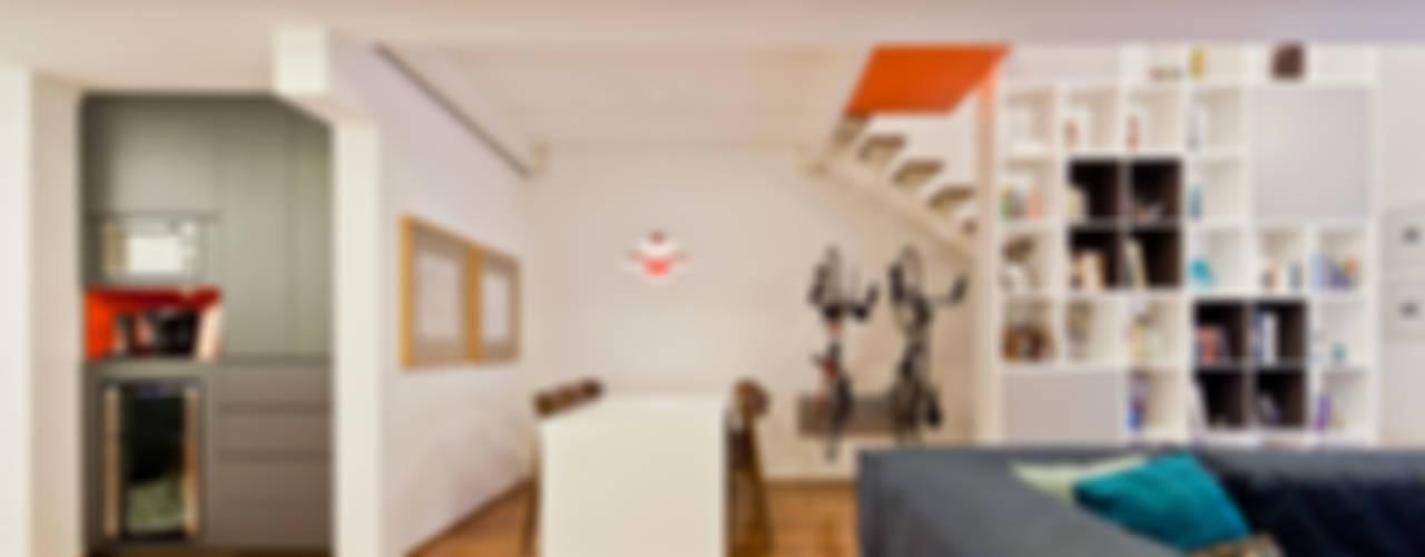 Salas de estilo moderno de Stuchi&Leite Projetos Moderno