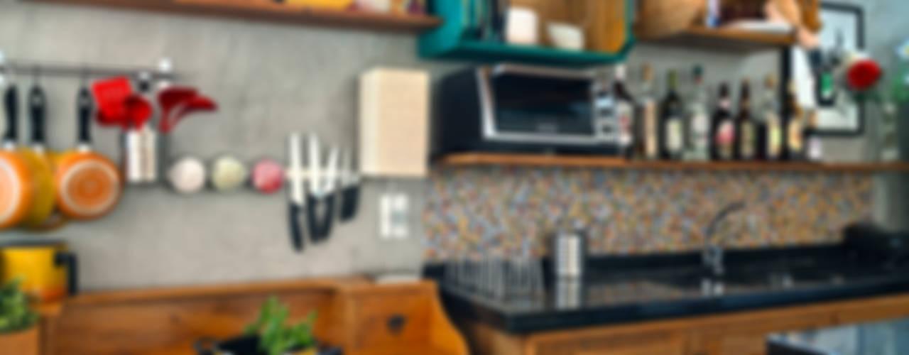 مطبخ تنفيذ Estúdio 102