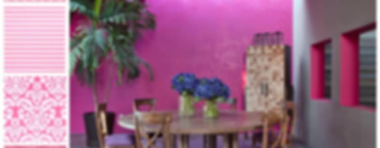 Comedor con mesa redonda: Comedores de estilo  por MARIANGEL COGHLAN