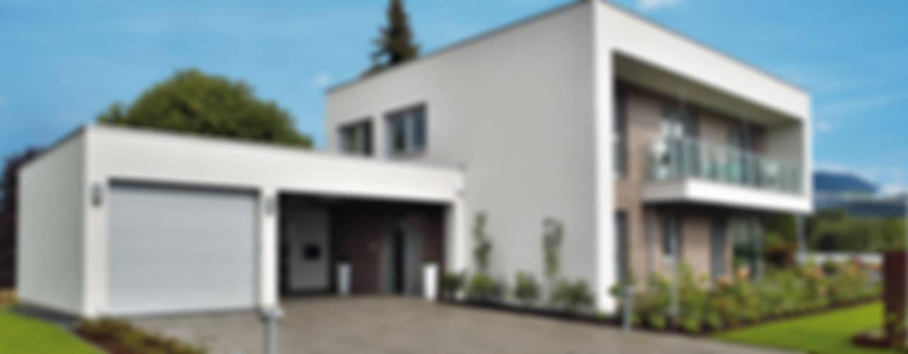 ELK Effizienzhaus 174 Moderne Häuser von ELK Fertighaus GmbH Modern