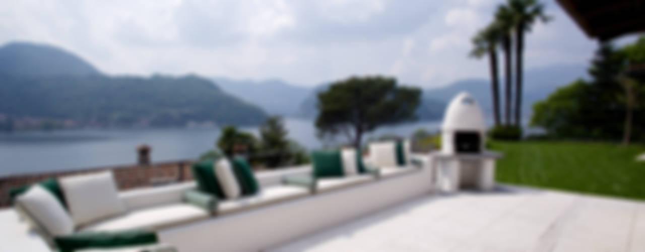 Balcones y terrazas de estilo mediterráneo de DF Design Mediterráneo