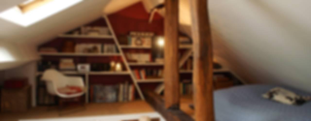 Appartement Parisien pour jeune couple- Paris- 2e Chambre moderne par ATELIER FB Moderne
