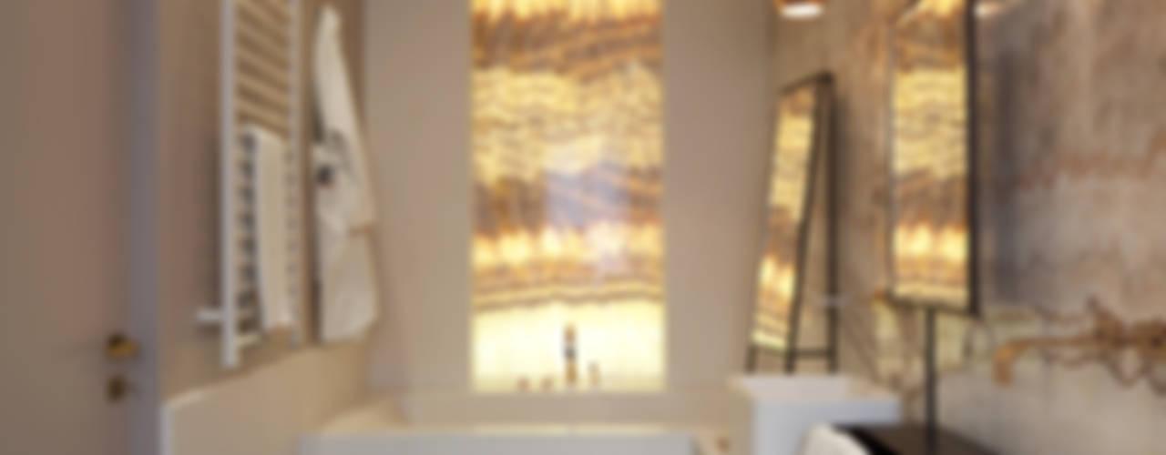 Klasyczna łazienka od Studio Andrea Castrignano Klasyczny