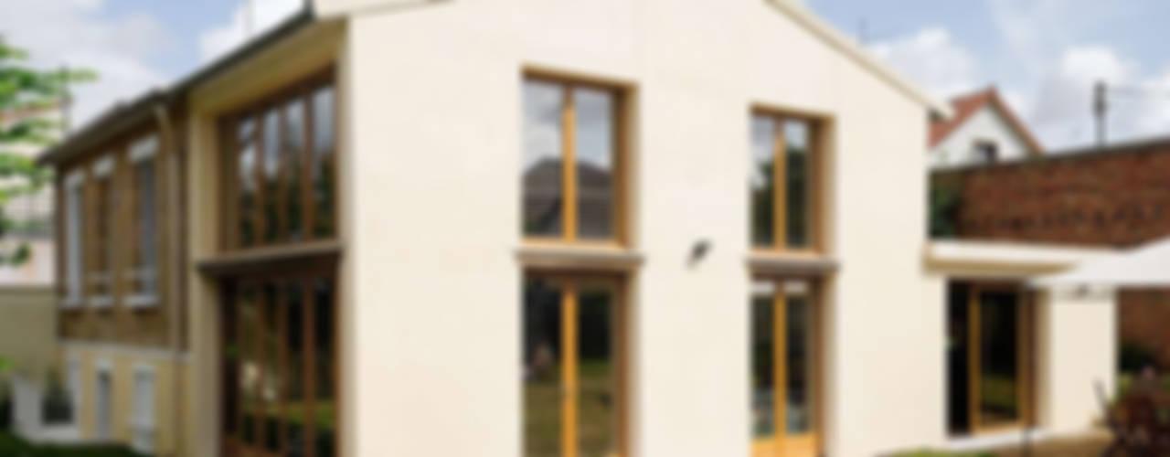 Réfection complète d'une maison à Colombes + extension, 170m² Maisons modernes par ATELIER FB Moderne