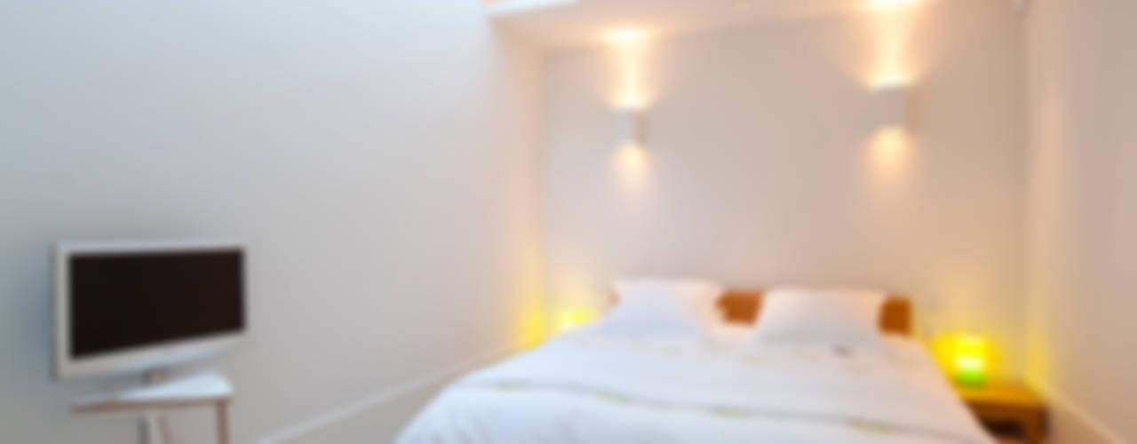 Battersea Basement & Full Refurbishment Dormitorios de estilo escandinavo de Gullaksen Architects Escandinavo