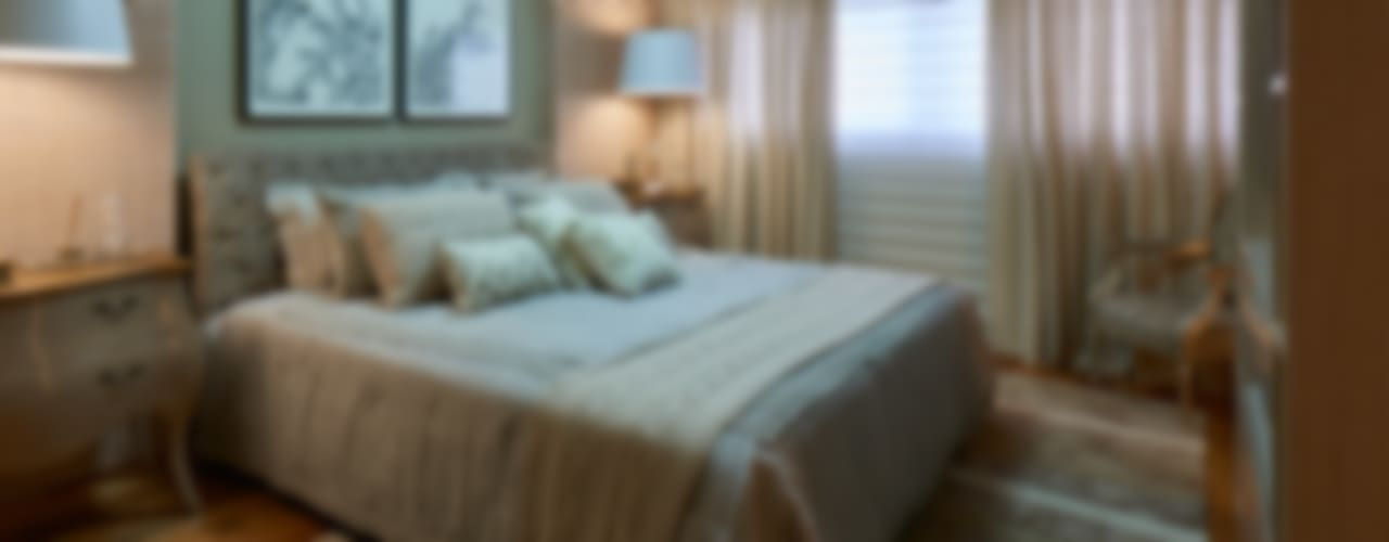Classic style bedroom by Gláucia Britto Classic