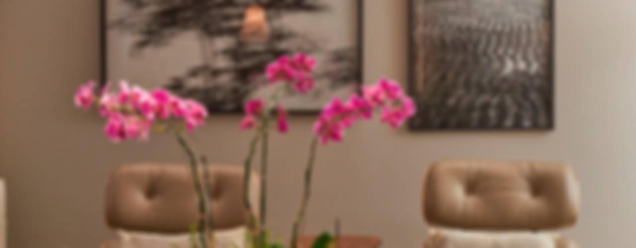 Apartamento KV Salas de estar modernas por Gláucia Britto Moderno
