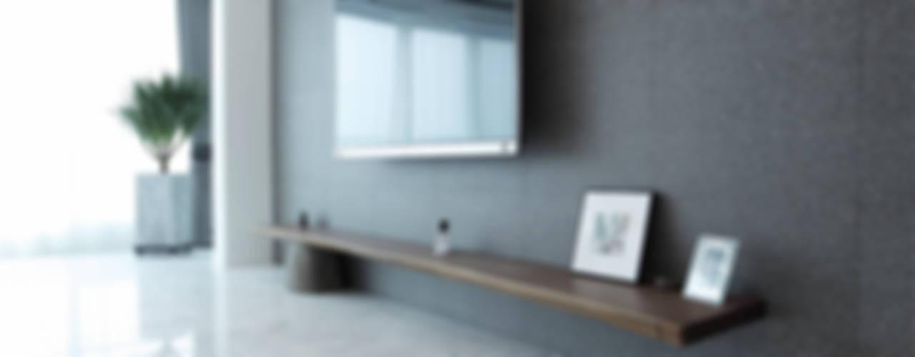 일산 강선마을 벽산아파트 58평형: MID 먹줄의  거실,모던