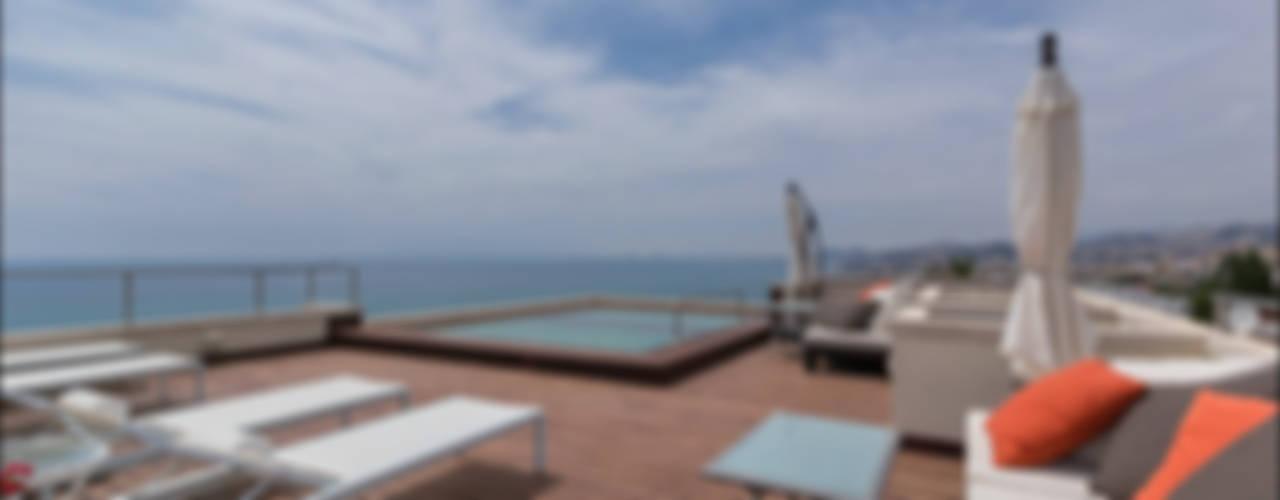 Balcones y terrazas tropicales de Per Hansen Tropical