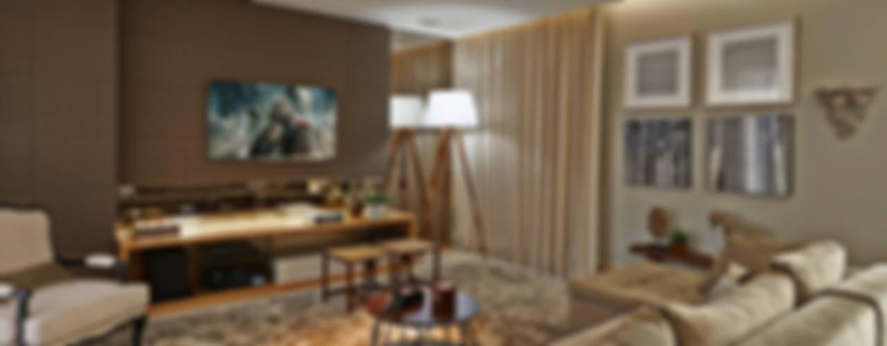 Residência LM Salas de estar modernas por Gláucia Britto Moderno