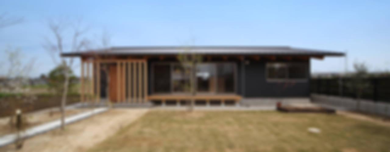 아시아스타일 주택 by 青木昌則建築研究所 한옥