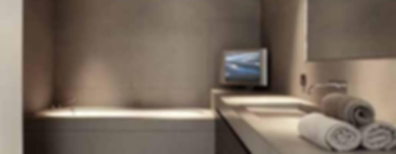 Modern Bathroom by Ensemble et associes Modern