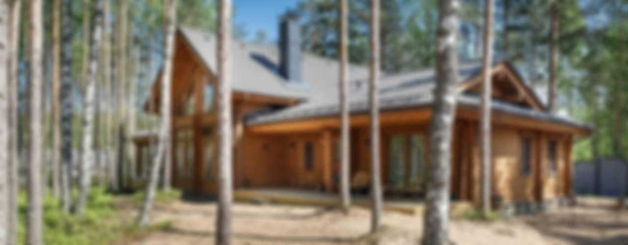 Honka, загородный дом для семьи из 6 человек от Ольга Кулекина - New Interior Скандинавский