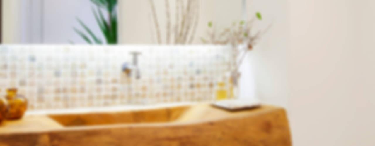 Helô Marques Associados Baños de estilo rústico