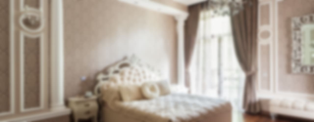 Резиденция в Горках 8: Спальни в . Автор – дизайн-студия ZE-MOOV