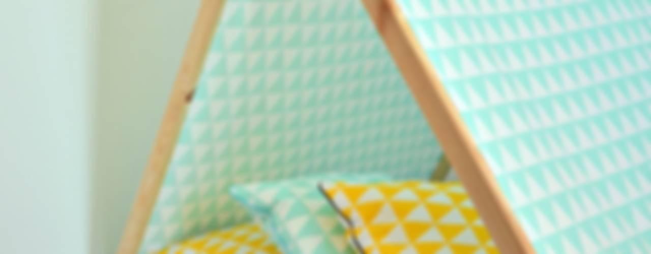 Domek Namiot Tipi: styl , w kategorii  zaprojektowany przez Lucky Kids,Nowoczesny