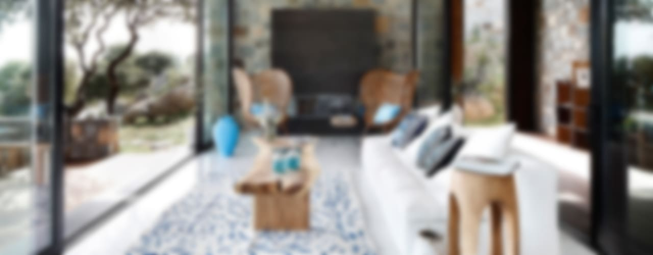Living room by Engel & Völkers Bodrum, Modern