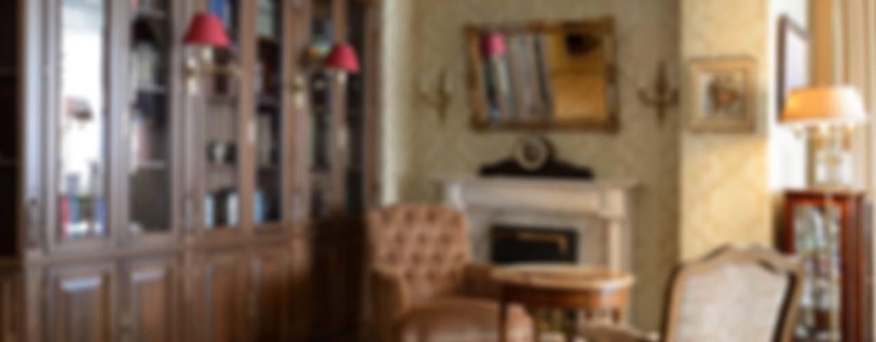 Квартира в английском стиле: Гостиная в . Автор – ANIMA, Классический