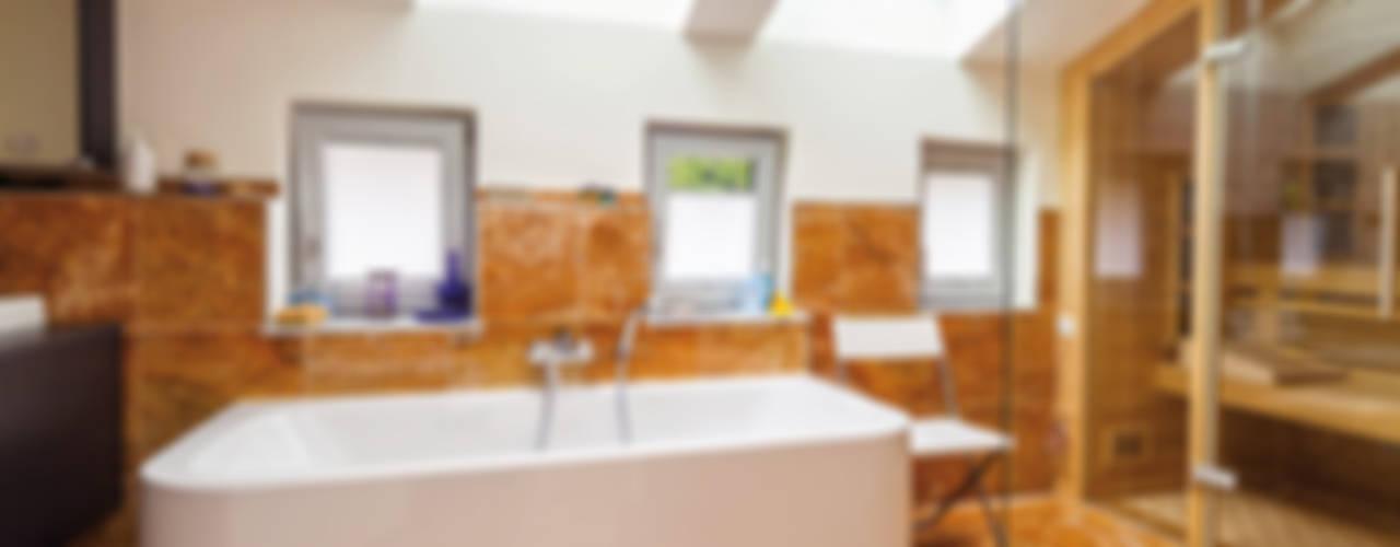 Haacke Haus GmbH Co. KG Mediterranean style bathrooms