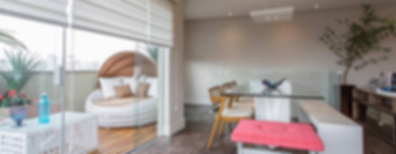 Brooklin Varandas, alpendres e terraços modernos por Lo. interiores Moderno
