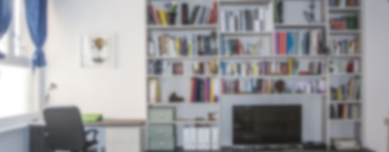 modern Living room by Studio di architettura Miletta