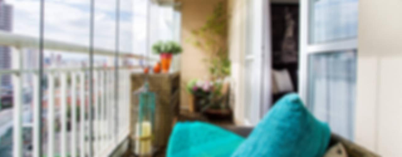 Terrazas de estilo  por Lo. interiores, Rústico