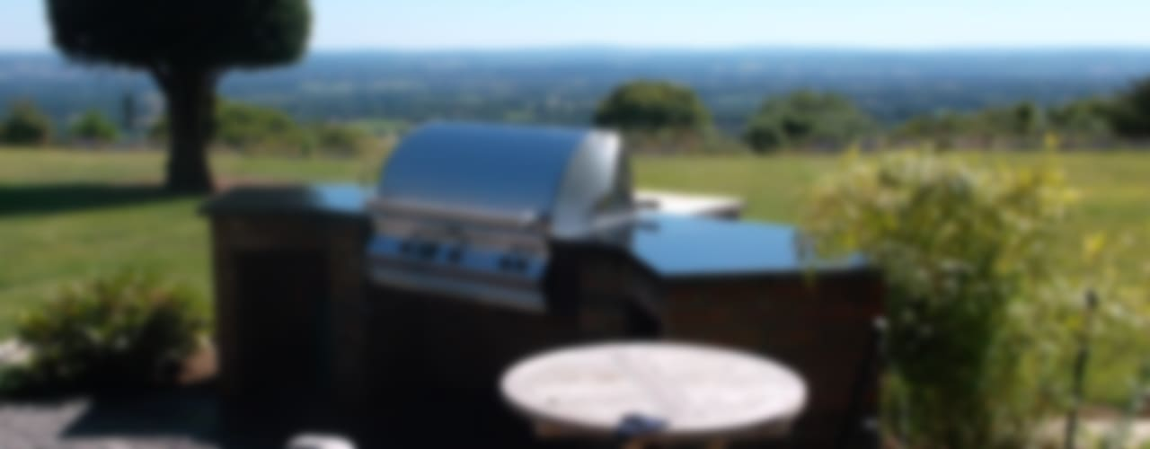 Outdoor Kitchens and BBQ Areas: modern  by Design Outdoors Limited, Modern