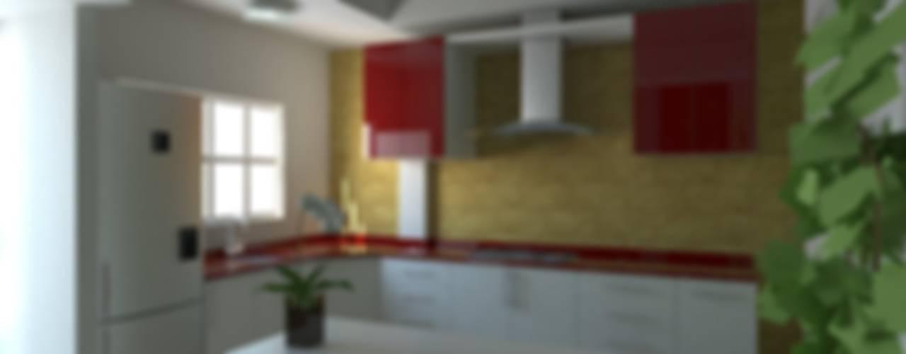 IDEA Studio Arquitectura Modern style kitchen