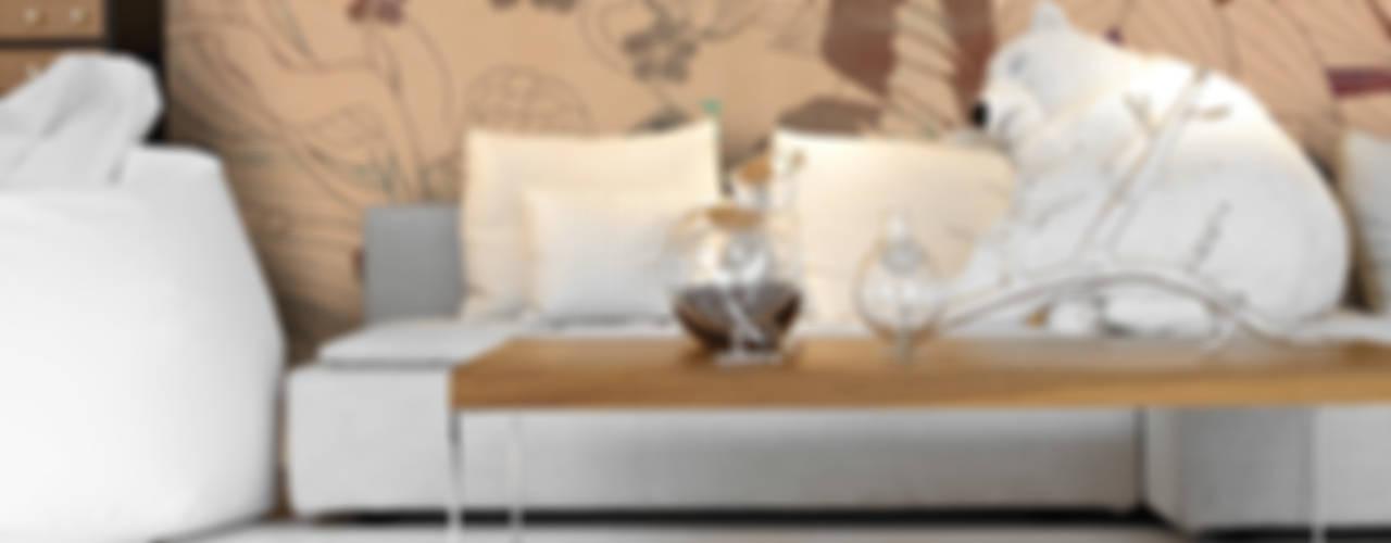 Nuova collezione Inkiostro Bianco Pareti & PavimentiCarta da parati