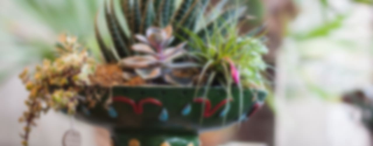 Cerâmica para plantas por Ateliê de Cerâmica - Flavia Soares Asiático