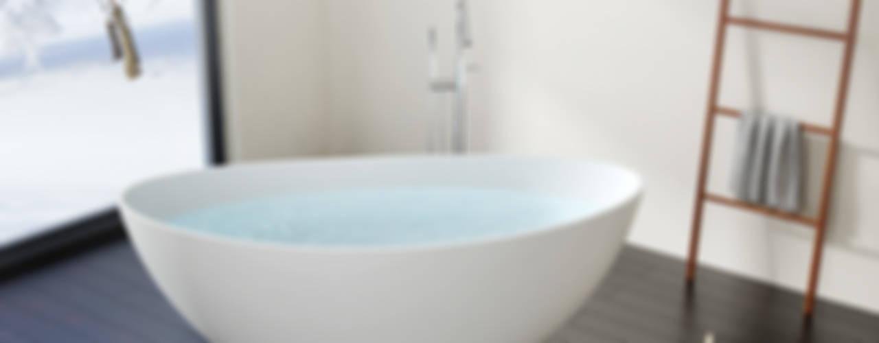 Moderne freistehende Badewannen von Badeloft: modern  von Badeloft GmbH - Hersteller von Badewannen und Waschbecken in Berlin,Modern