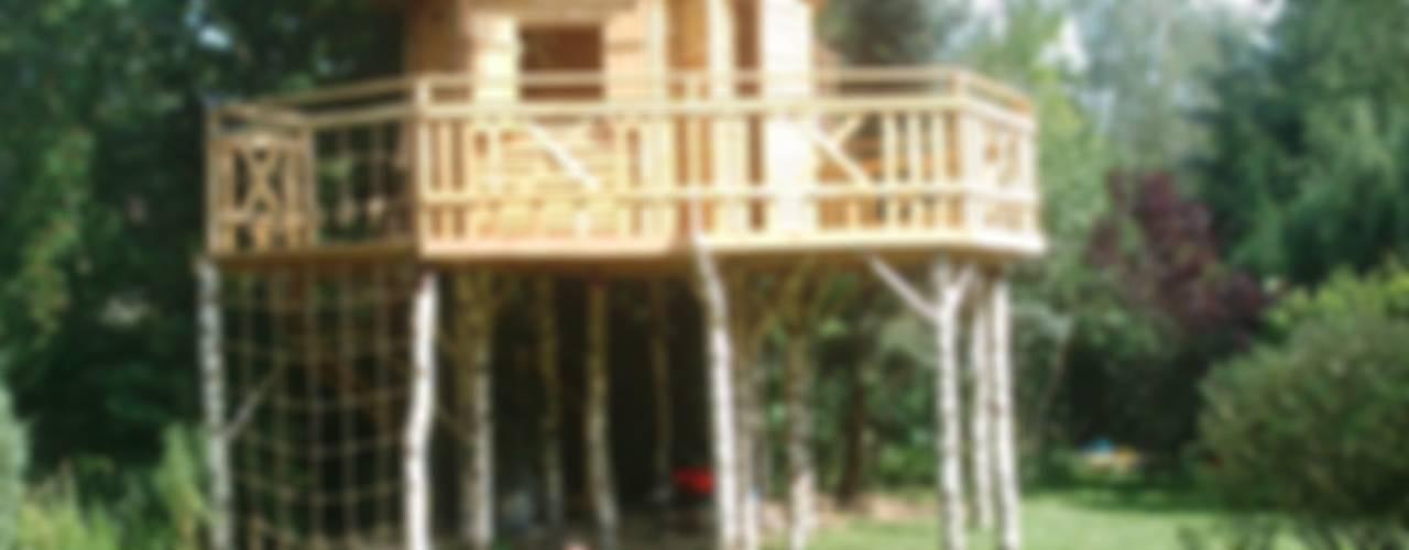 Domek dla Kasi Klasyczny ogród od PHU Polma Klasyczny