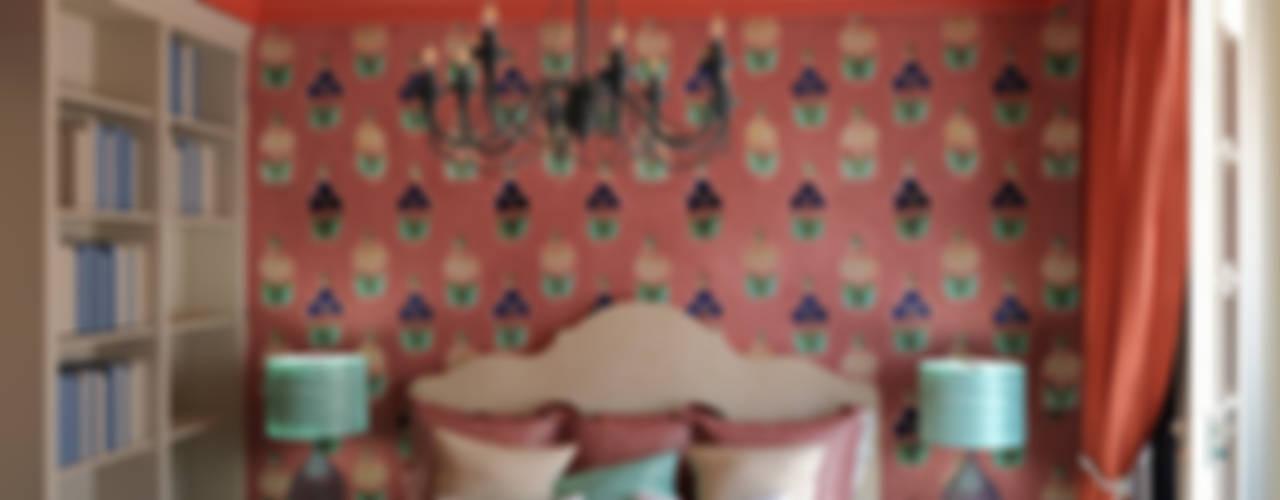 КРАСКИ ВОСТОКА В ПАЛИТЕ ЗАПАДА. Современный интерьер в мавританском стиле: Спальни в . Автор – Сидорова Юлия, Эклектичный