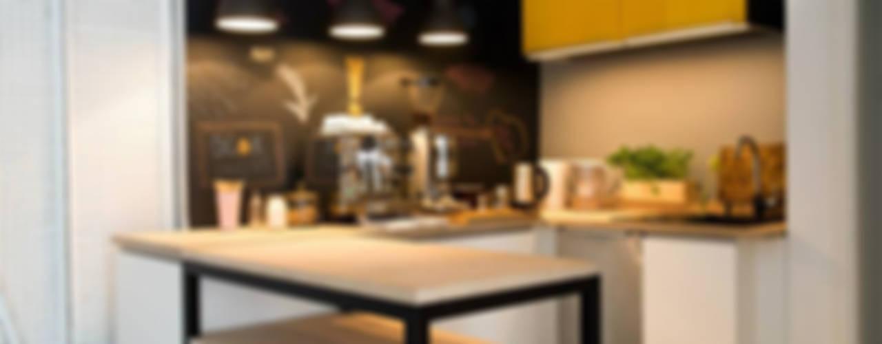 Cuisine moderne par Blok projekt Moderne