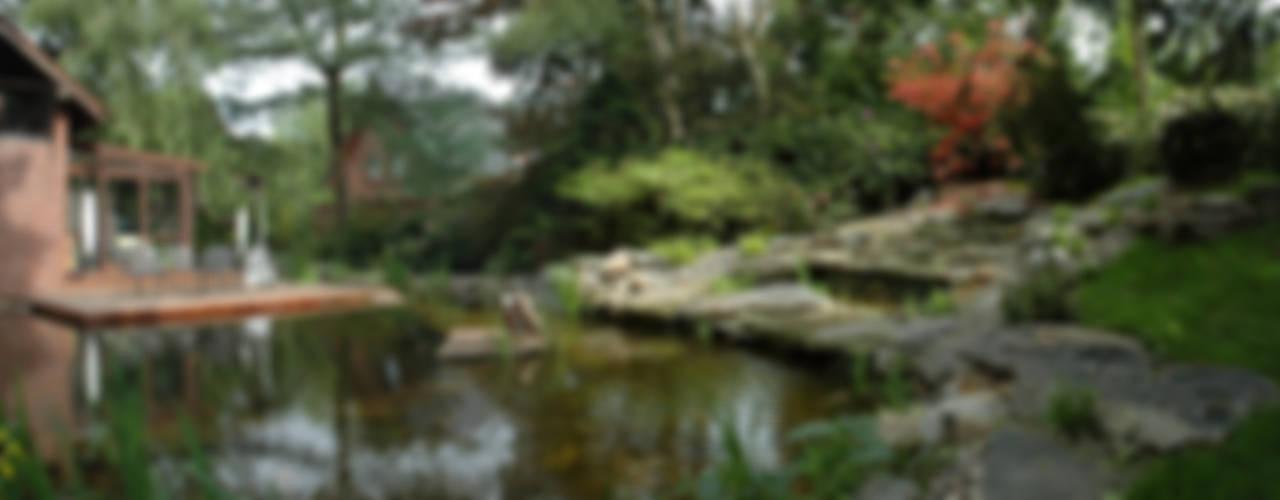 Ogród: styl , w kategorii Ogród zaprojektowany przez Architektura krajobrazu- naturalne systemy uzdatniania wod,Azjatycki