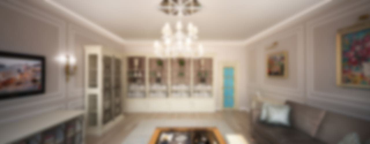 Анастасия Муравьева Klassische Wohnzimmer