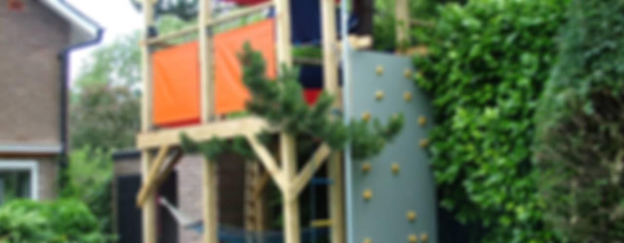 Tree house Moderne tuinen van TreeSaurus Modern