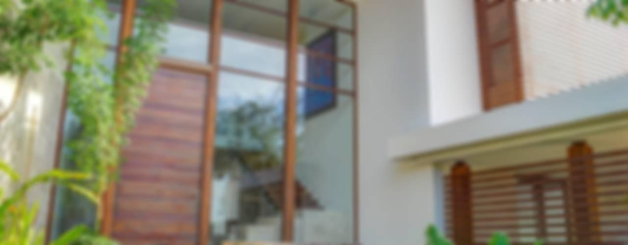 CASA JT Casas tropicales de Ancona + Ancona Arquitectos Tropical