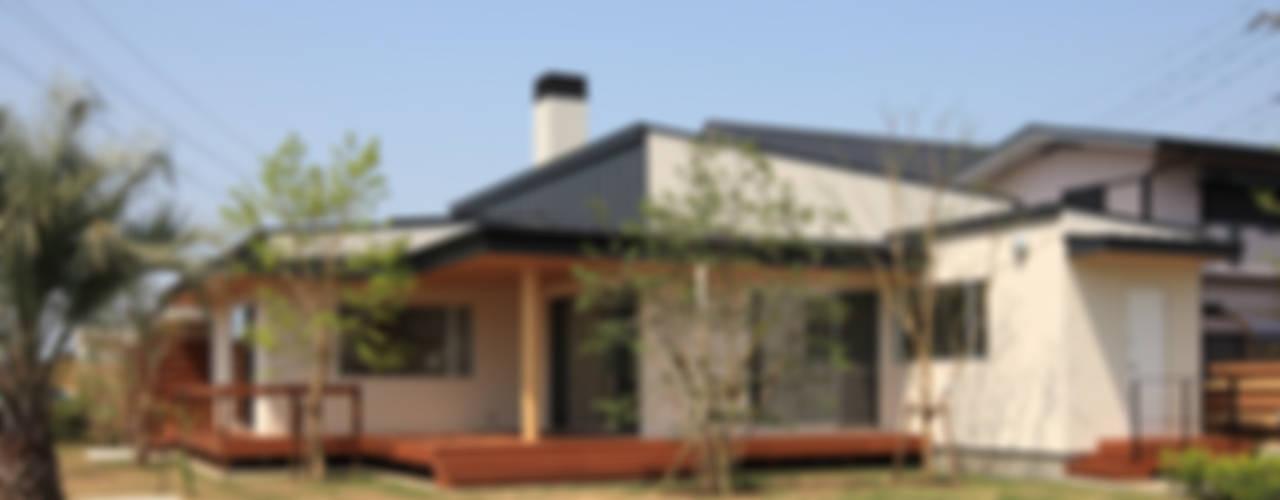 現代房屋設計點子、靈感 & 圖片 根據 TAMAI ATELIER 現代風