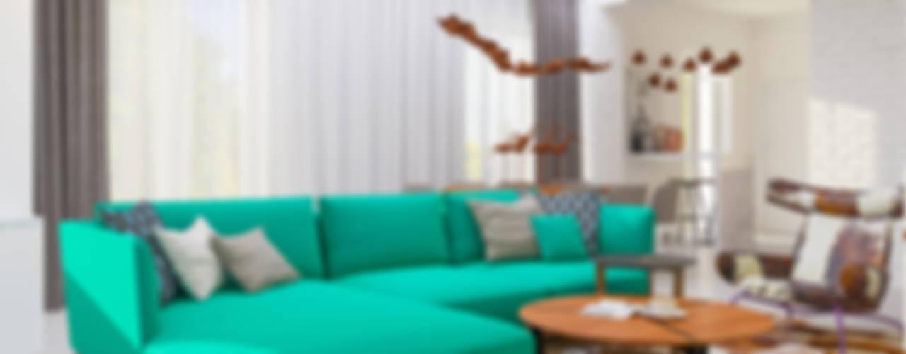 غرفة المعيشة تنفيذ Samarina projects