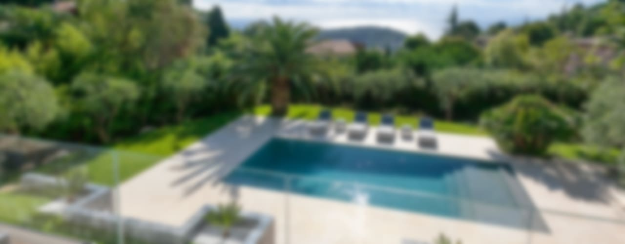South of France Modern pool by Urban Cape Interiors Modern