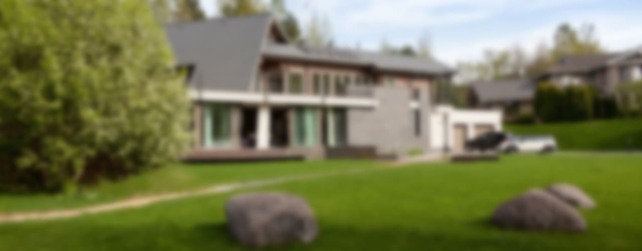 дом в Токсово Дома в скандинавском стиле от de.studio Скандинавский