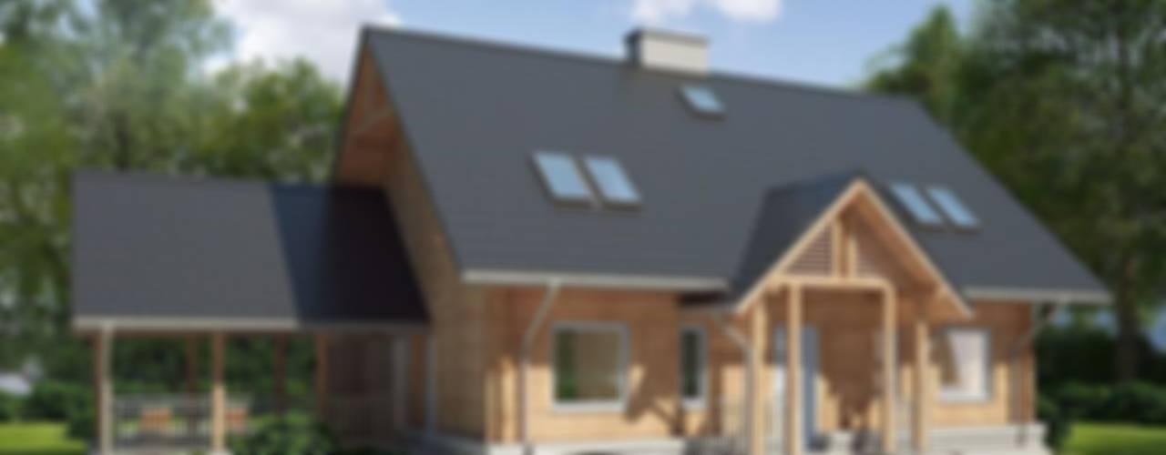 Деревянные дома в . Автор – LK & Projekt Sp. z o.o.